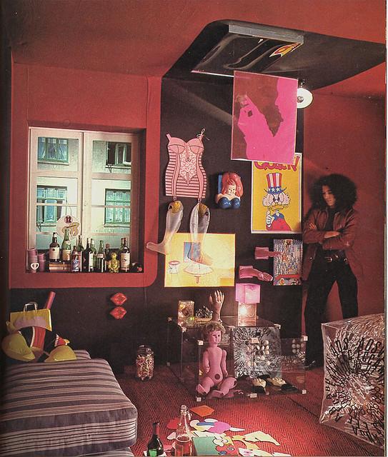 artists room 70s