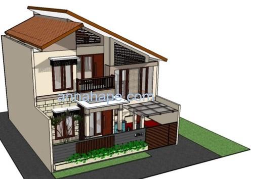 Kumpulan Contoh Gambar Desain Atap Rumah  Gambar rumah by