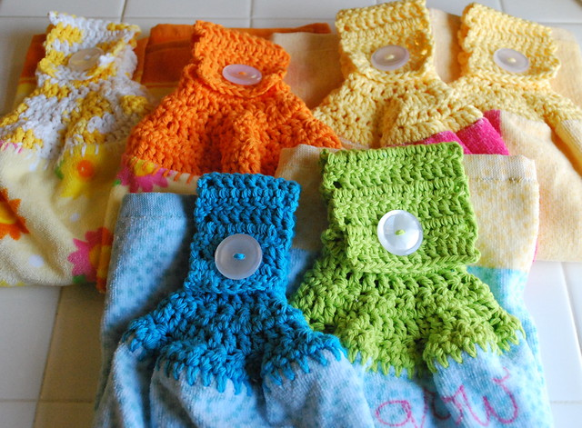 Free Towel Holder Crochet Pattern - Squidoo : Welcome to Squidoo