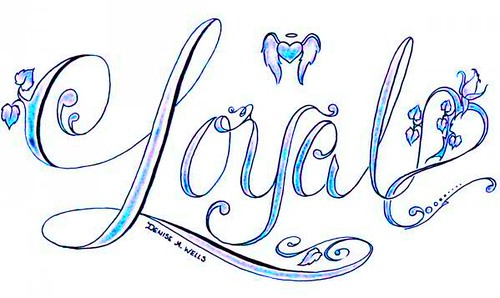 Loyal Tattoo design by
