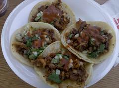 meal, carnitas, taco, food, dish, cuisine,