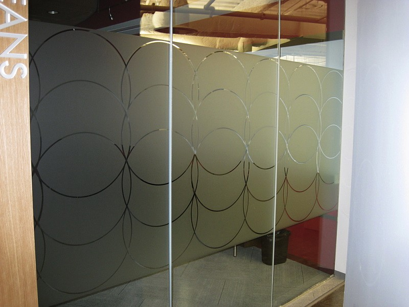 Etched Glass Or Frosted Glass Vinyl Film For Office Windows And Conference  Rooom Graphics. Orleans   Etched Glass Vinyl. 1 Photo Etched Glass Vinyl