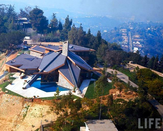 Wilt Chamberlain Residence - Antelo Place, Bel-Air, CA - Built: 1971