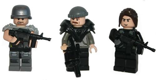 USDF soldiers