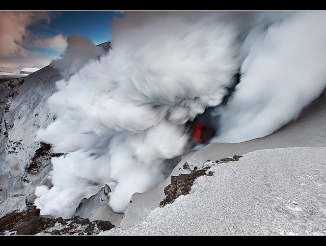 Steam Pump - Eyjafjallajökull Eruption