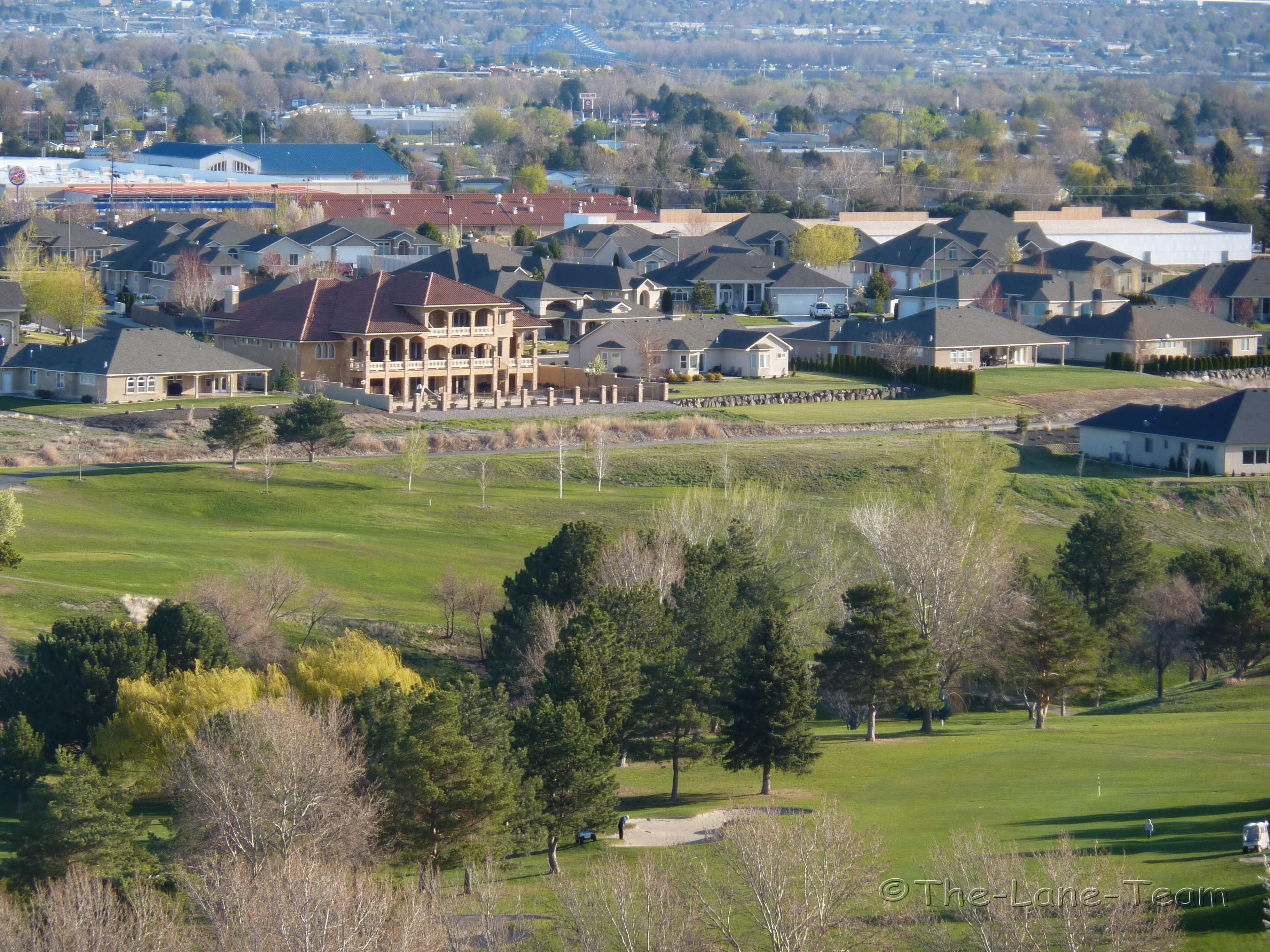 Canyon Lakes Kennewick Washington Golf Course Homes