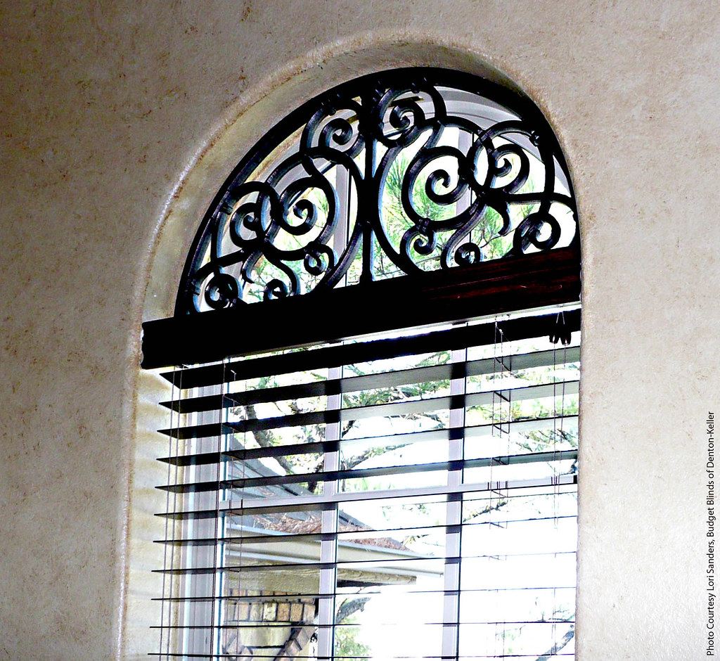Arched transom window treatment flickr photo sharing