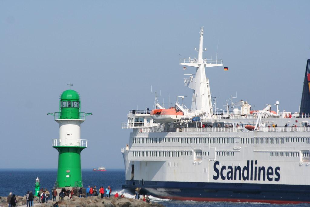 """Fähre FS """"Prins Joachim"""" - Scandlines - Bye bye..."""