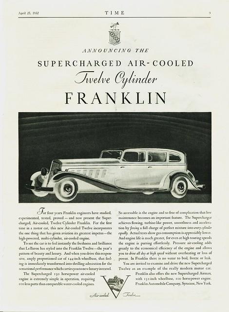 1932 Franklin Twelve