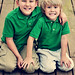 Our 2 boys on Easter 2010