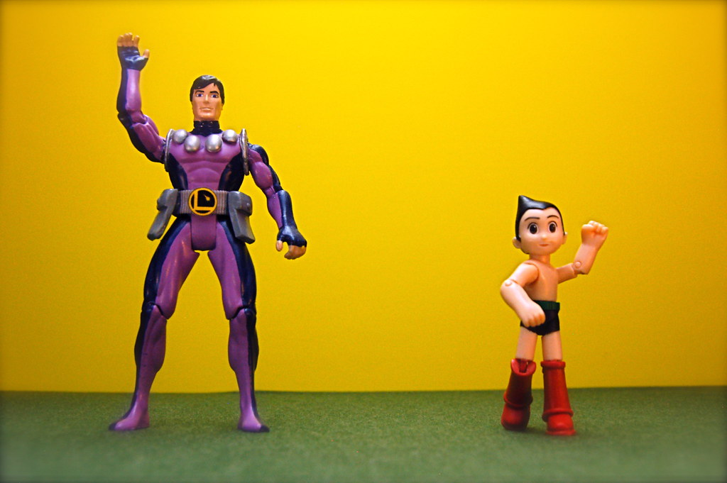 Cosmic Boy vs. Astro Boy (99/365)