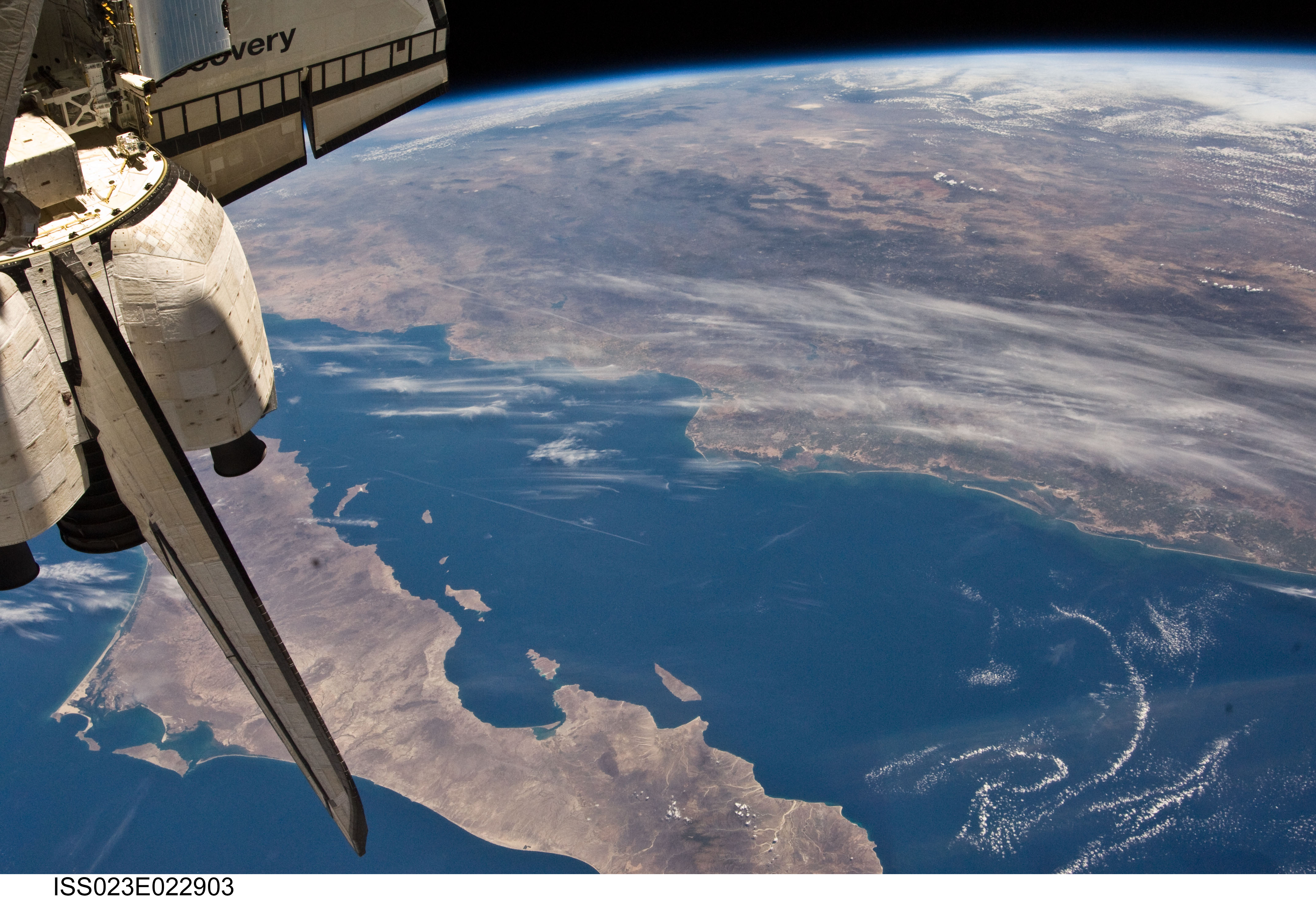 Mexico, Baja California, Gulf of California (NASA ...