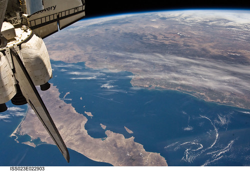 Mexico, Baja California, Gulf of California (NASA, International Space Station Science, 04/13/10)