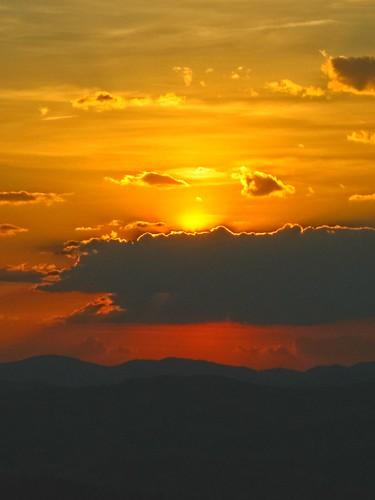 sunset clouds cloudscapes