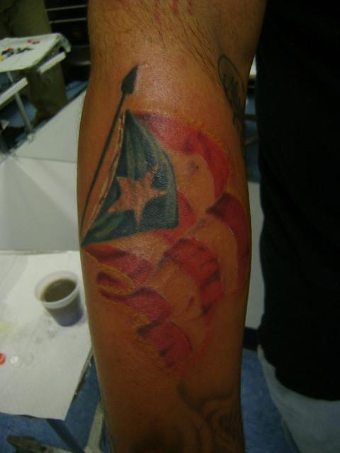 Puerto rico flag tattoo flickr photo sharing for Puerto rican tattoo