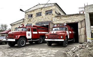 USACE begins convertion of WWII-era facility into fire station for Moldova residents