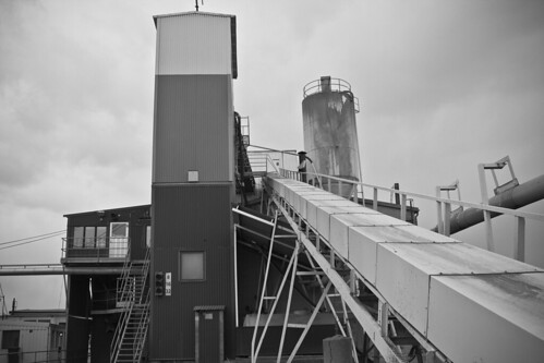 blackandwhite bw canon 2010 joakim johansson monocolor concreteplant 550d alendri betongfabrik