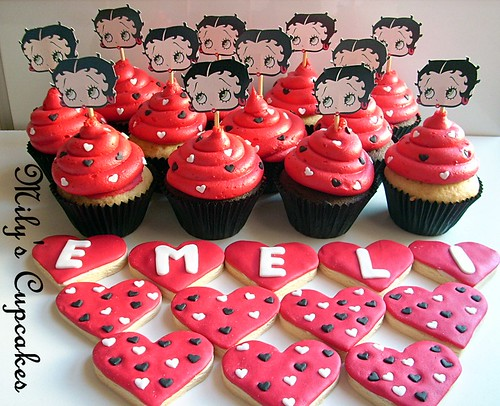 Betty Boop red hot