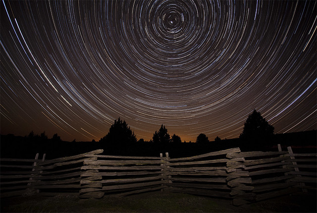 High Desert Nightscape: Monument, Oregon