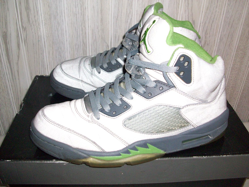 online store 3df6c a6857 Air Jordan Green Bean 5