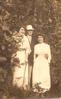 May Egan, Uncle James Farrell & Friend