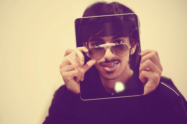 See through iPad?