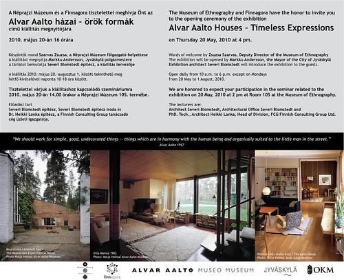 Alvar Aalto házai - örök formák