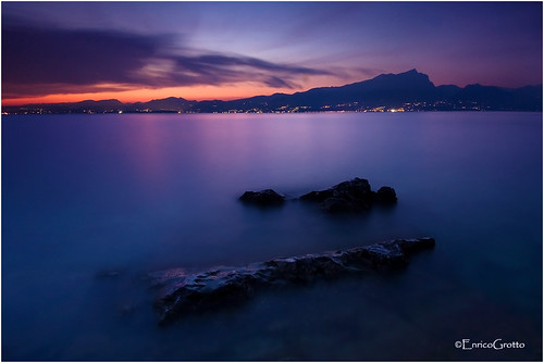 L'Ultima Luce, Lago di Garda - The Last Light, Garda Lake - Italy