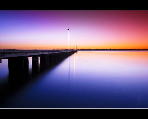 sunset como landscape dusk jetty timeexposure perth westernaustralia cokin canningriver neutraldensity gradualfilter comojetty afsdxzoomnikkor1755mmf28gifed nikond300s tripleniceshot