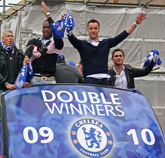 Chelsea FC Double Winners Parade 2010 #1