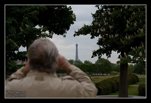 Tourist in Paris