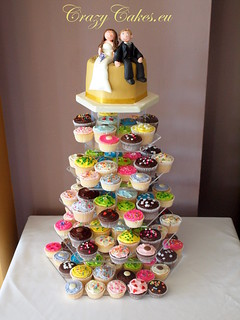Colourful Wedding Tower