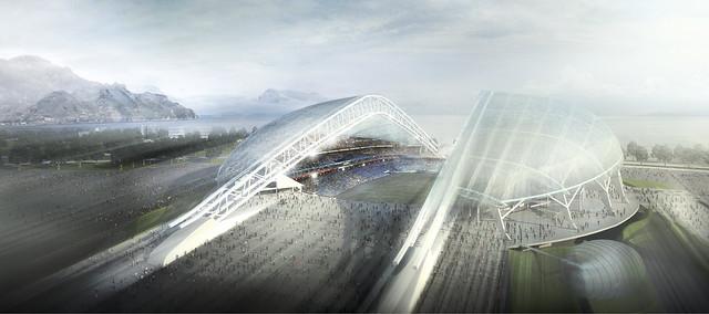 SOCHI 2014 OLYMPIC VENUES DESIGN