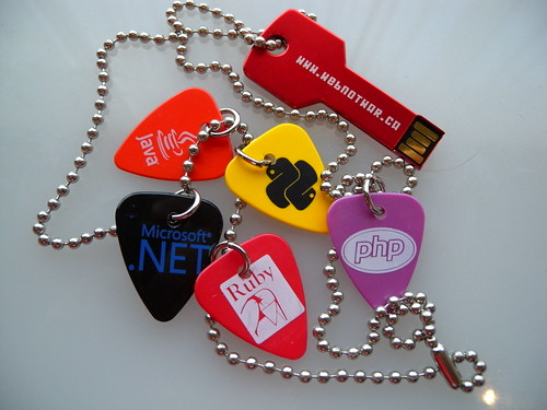 Make Web Not War's Guitar Pick Necklace and USB Key, Part 2