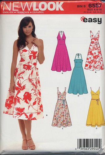 New Look pattern 6557 sundress