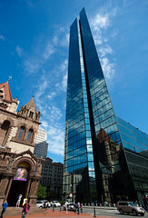 Hancock and Trinity in Boston