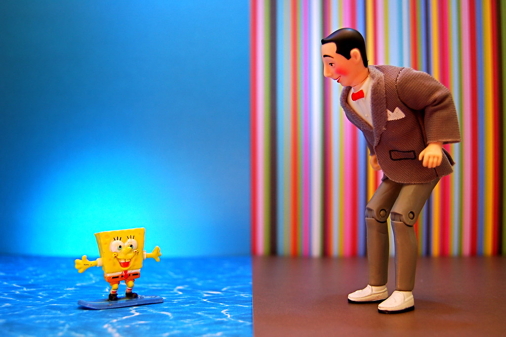 SpongeBob SquarePants vs. Pee Wee Herman (160/365)