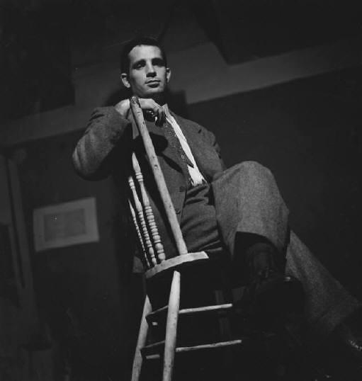Jack Kerouac, by Elliott Erwitt