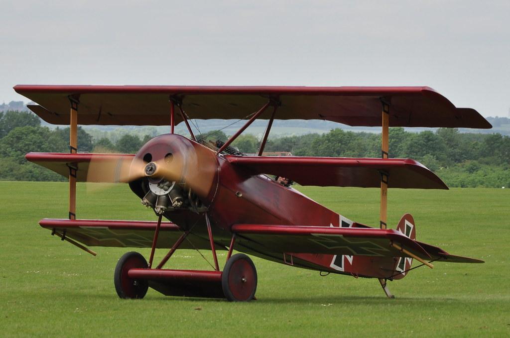 Fokker DR 1 Triplane replica
