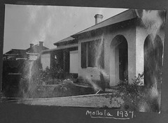 The surgery at the residence of Dr Hilary Boucaut in Mallala
