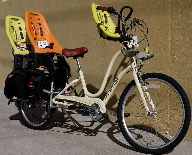 Electra Townie with Child Seat