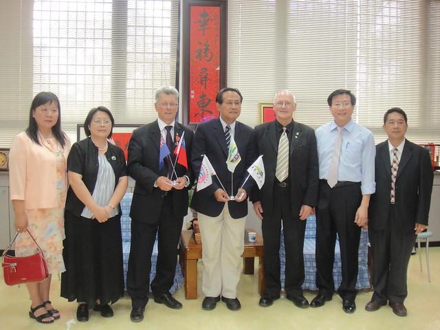 2010年5月份-金色山莊安排Hauraki市長拜會屏東縣曹縣長