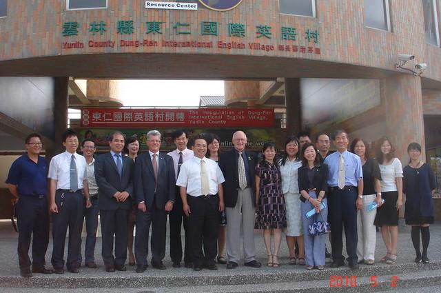 2010年5月份-金色山莊安排Hauraki市長拜會雲林縣國際教育交流協會