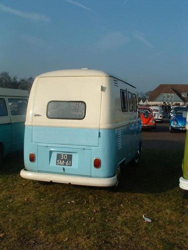 30-SM-61 Volkswagen Transporter Hoogdak 1961