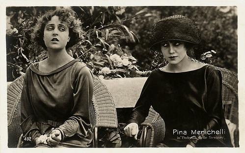 Pina Menichelli in Il padrone delle ferriere (1919)