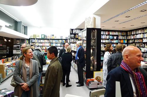 Buchhandlung König Kunstpräsentation. November 2010