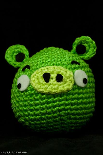 Amigurumi Green Pig : Green Pig Flickr - Photo Sharing!