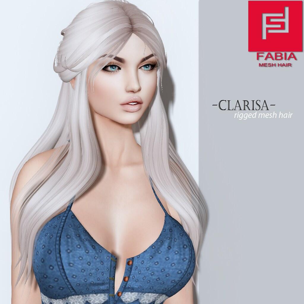 -FABIA- Mesh Hair   <Clarisa> - SecondLifeHub.com