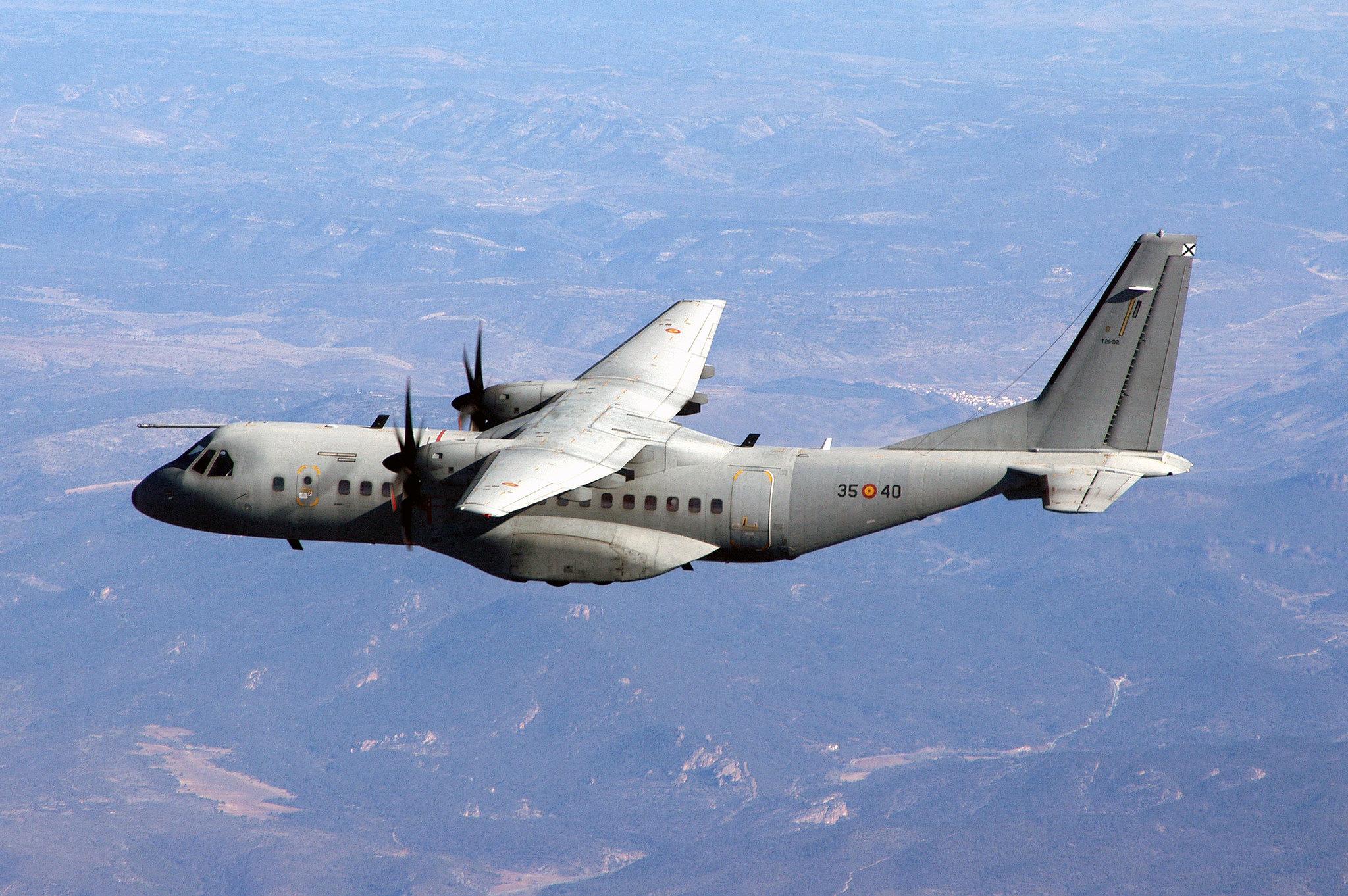 Dos C-295 participan en el ETAC
