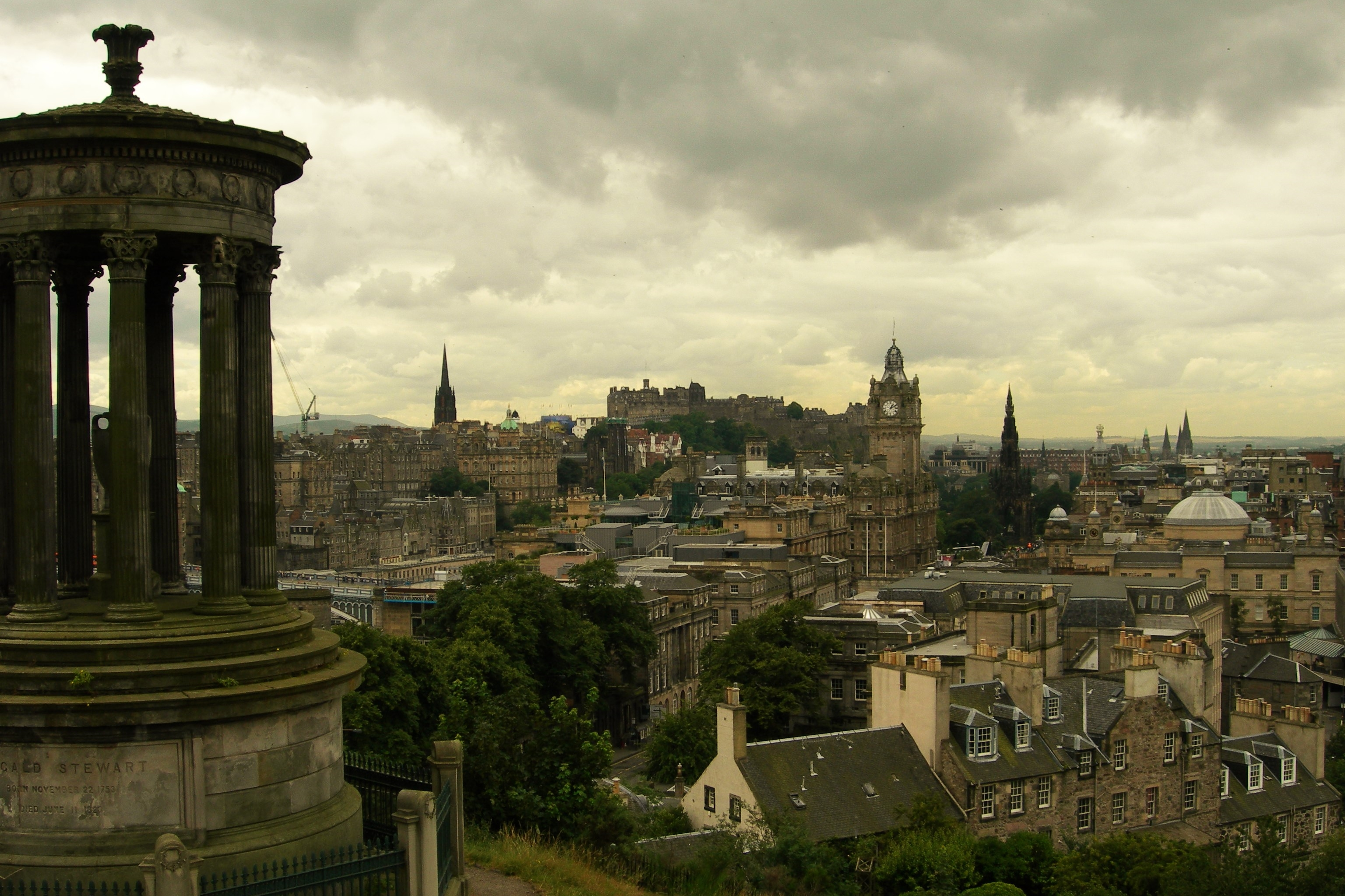 Elevation of Princes Street, Princes St, Edinburgh, UK - Topographic ...